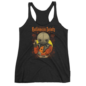Halloween Saints - Sam Women's Racerback Tank