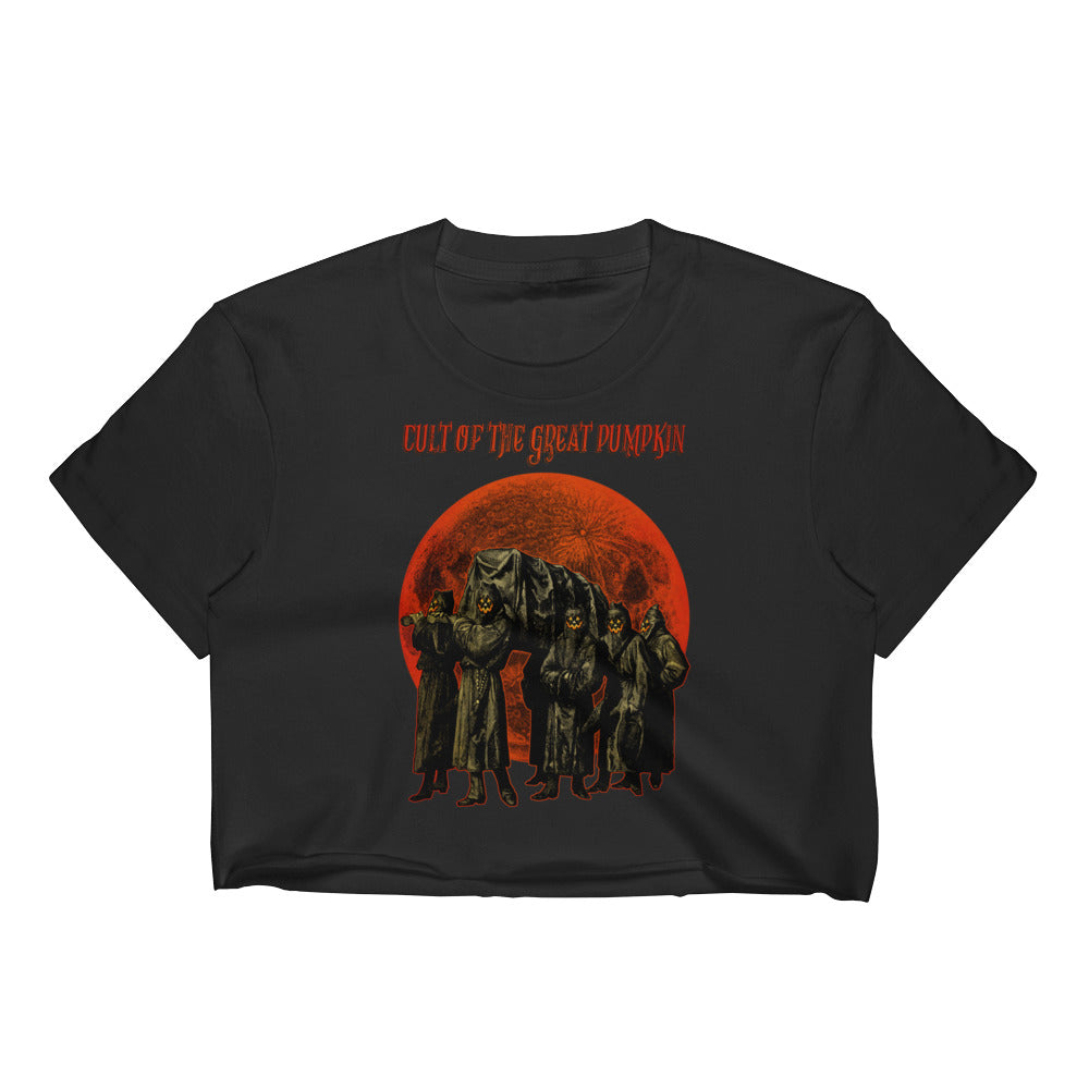 Cult of the Great Pumpkin - Pallbearers Women's Crop Top