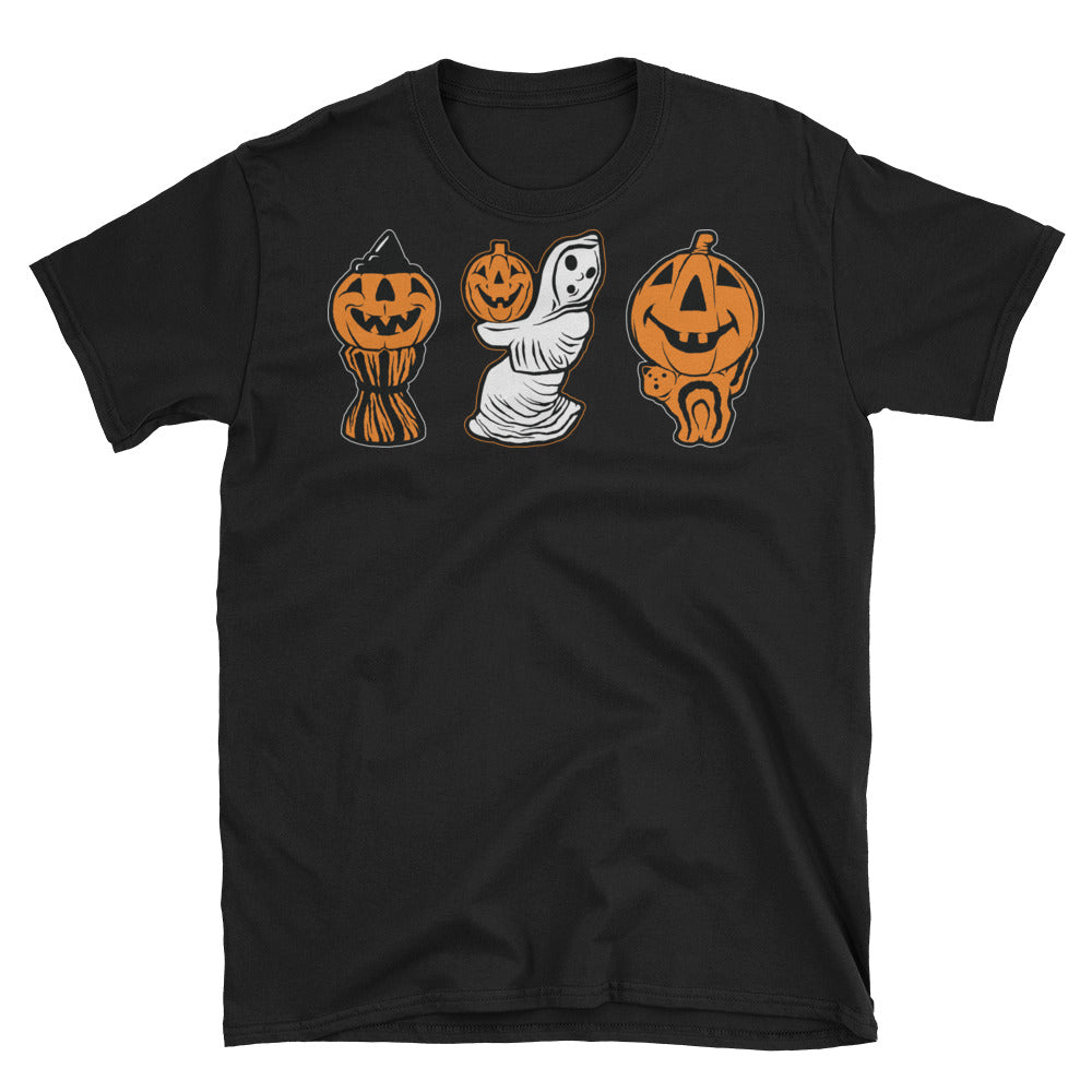 3 Halloween Blowmolds Short-Sleeve Unisex T-Shirt