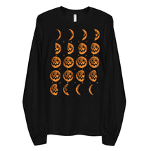 Cult of the Great Pumpkin Moon Phases Long sleeve t-shirt