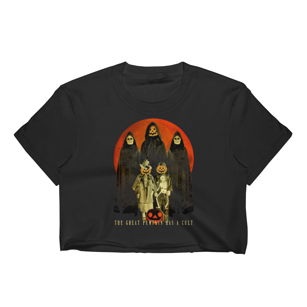 Cult of the Great Pumpkin - Trick or Treaters Women's Crop Top