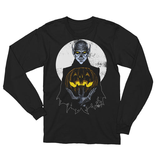Monster Holiday - Vampire Unisex Long Sleeve T-Shirt