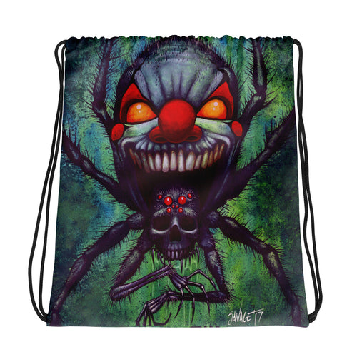 DOOMSPIDER Drawstring bag