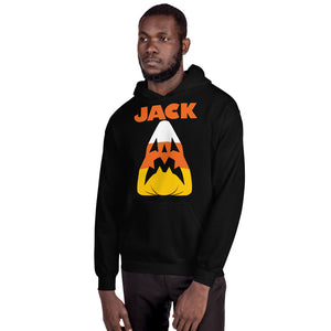 Candy Corn Jack Attack Unisex Hoodie