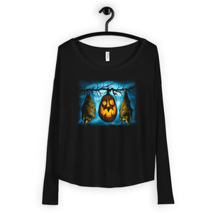 Samhain Salutations Ladies' Long Sleeve Tee