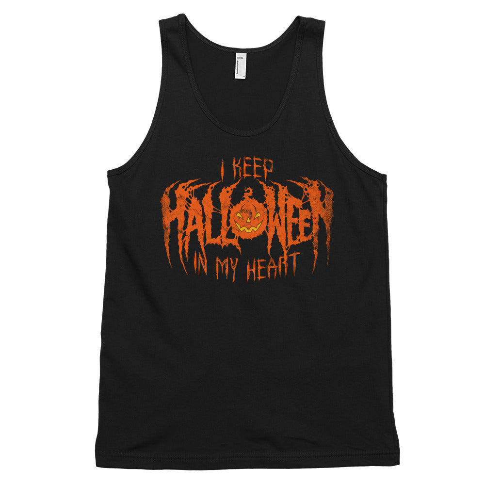 I Keep Halloween In My Heart Classic tank top (unisex)