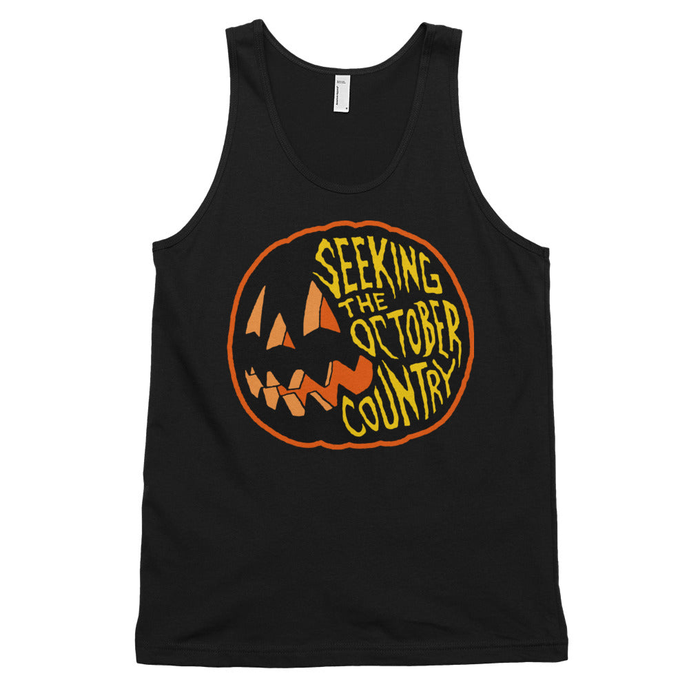 Seeking the October Country Pumpkin Classic tank top (unisex)