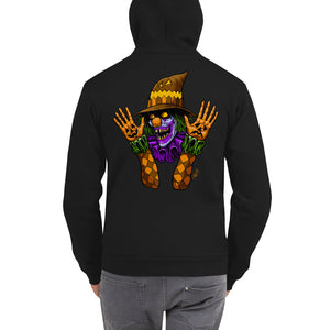 Scareclown Zip-Up Hoodie Sweater