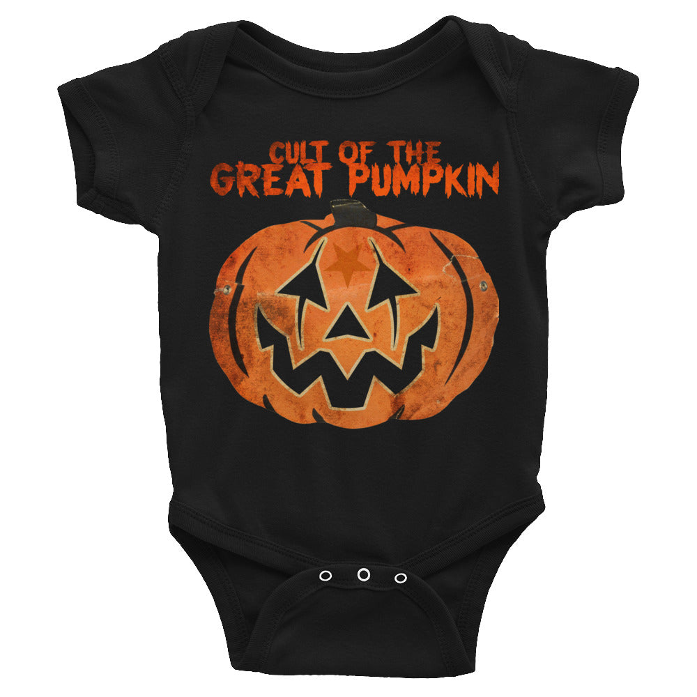 Cult of the Great Pumpkin - Mask Infant Bodysuit