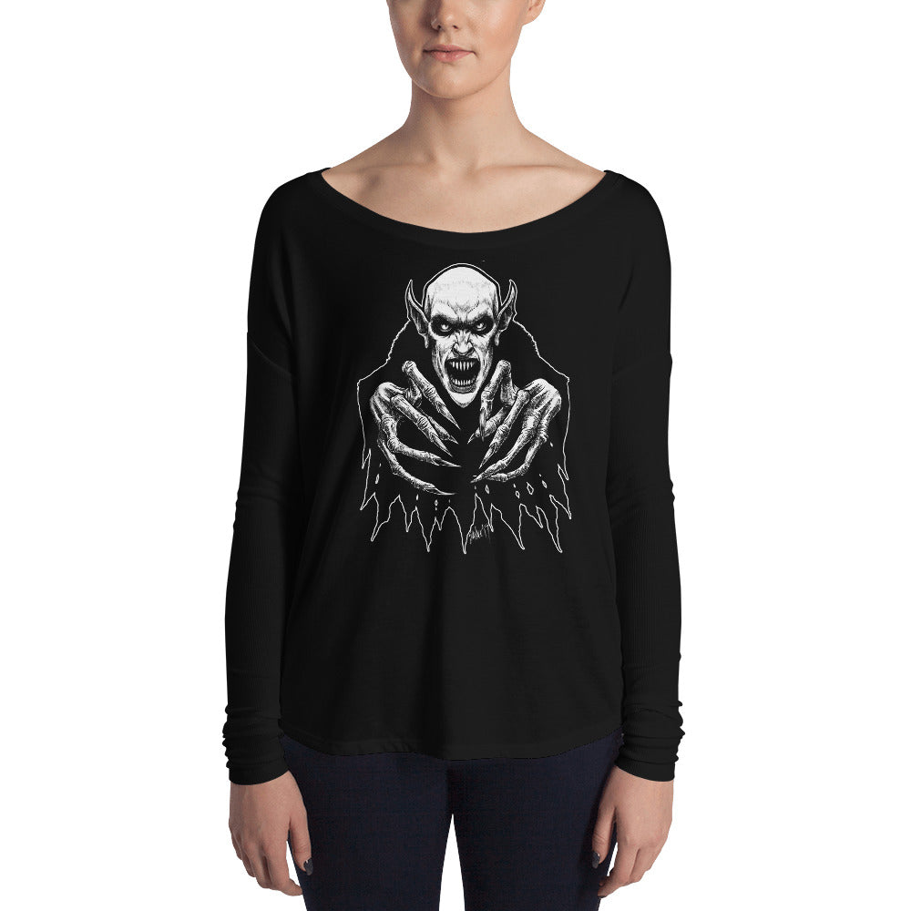 Fearwear Art - Nosfera-tude Ladies' Long Sleeve Tee