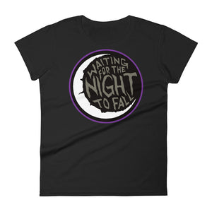 Waiting for The Night to Fall Women's short sleeve t-shirt