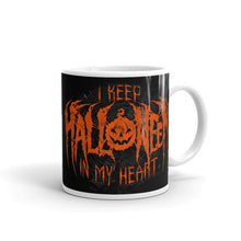 I Keep Halloween In My Heart Mug