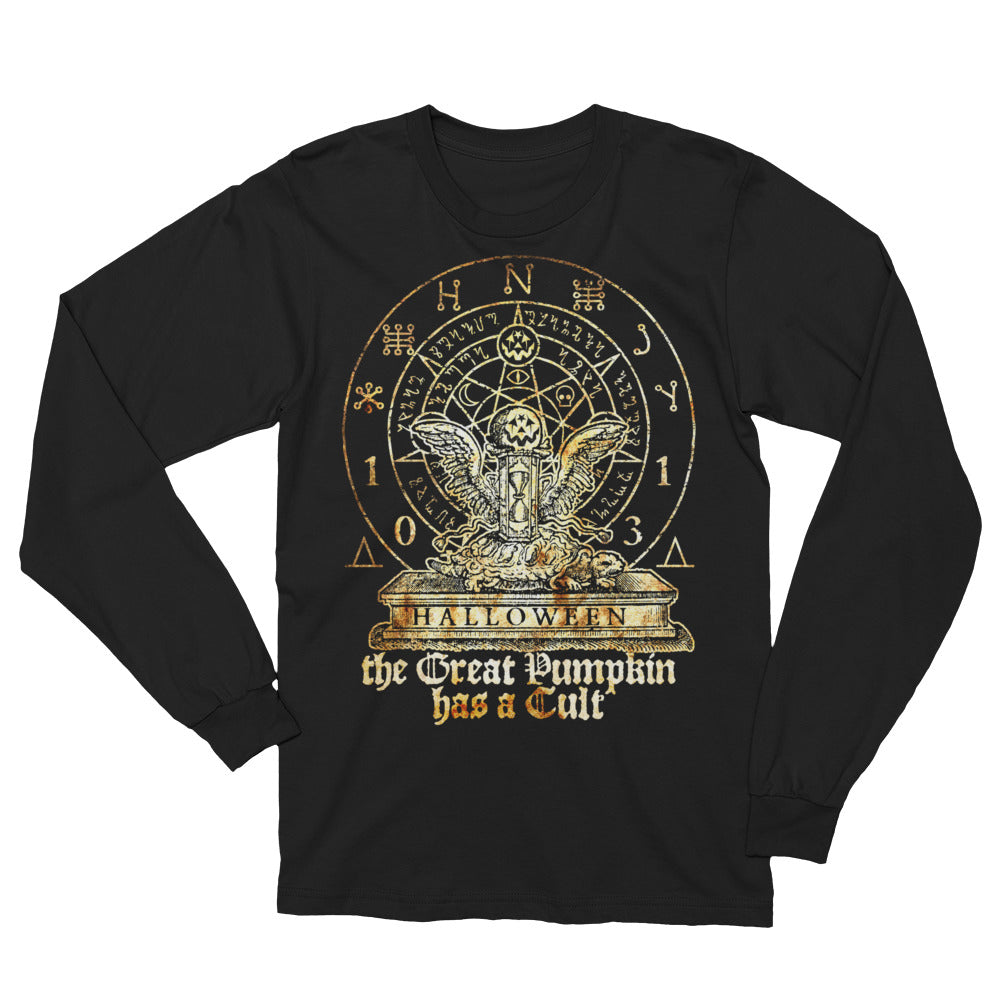 Cult of The Great Pumpkin - Hourglass Turtle Unisex Long Sleeve T-Shirt