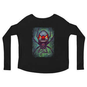 Doomspider Ladies' Long Sleeve Tee