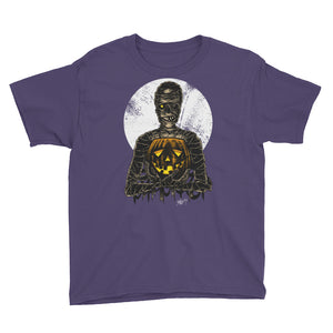 Monster Holiday - Mummy Youth Short Sleeve T-Shirt
