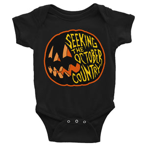 Seeking the October Country Pumpkin Infant Bodysuit