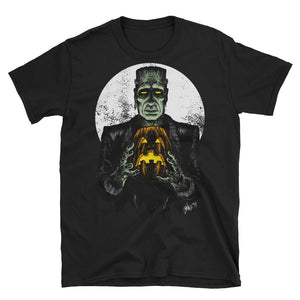 Monster Holiday - The Monster Short-Sleeve Unisex T-Shirt