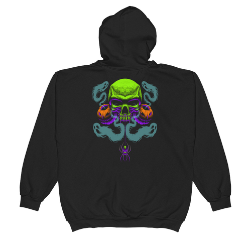 Happy Haunting Anvil 71600 Full-Zip Hooded Sweatshirt