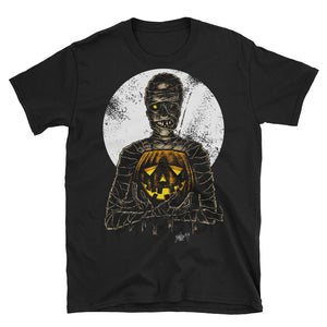 Monster Holiday - Mummy Short-Sleeve Unisex T-Shirt