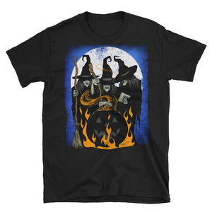 Cauldron Crones Short-Sleeve Unisex T-Shirt