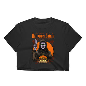 Halloween Saints - Moundshroud Women's Crop Top