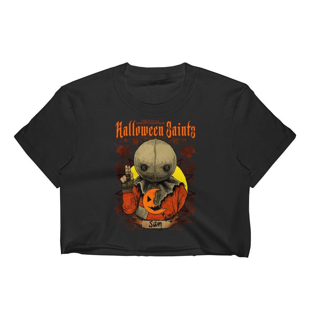 Halloween Saints - Sam Women's Crop Top