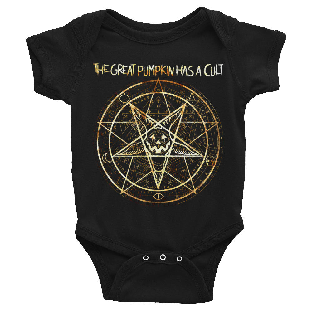 Cult of the Great Pumpkin - Pentagram Infant Bodysuit
