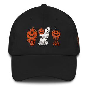 Halloween Blowmold Decorations Dad hat