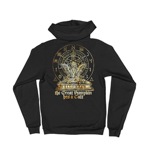 Cult of the Great Pumpkin - Hourglass Turtle Hoodie sweater