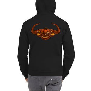 HalloWicked Zip-Up Hoodie sweater