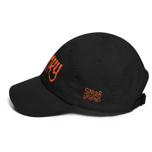 Spooky (Orange) Embroidered Dad hat