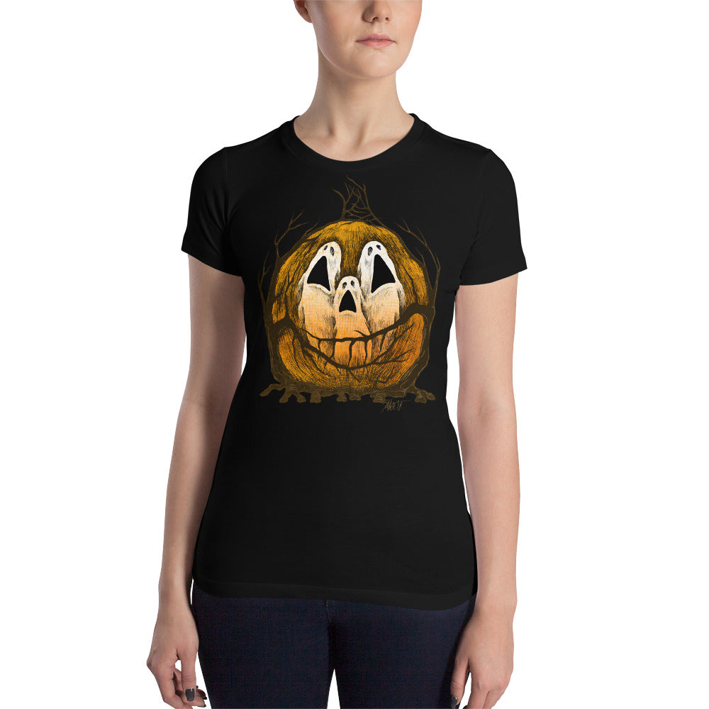 Halloween Spirits Women's Slim Fit T-Shirt
