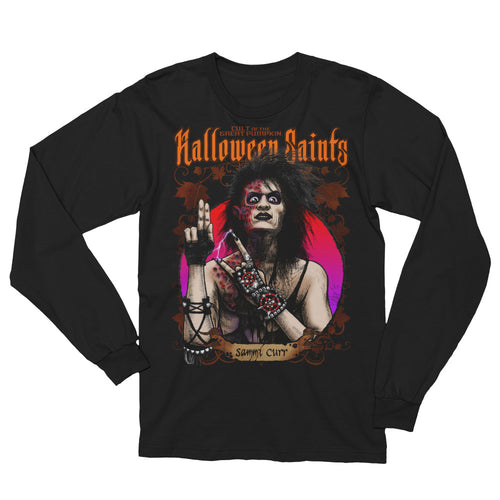 Halloween Saints - Sammi Curr Unisex Long Sleeve T-Shirt