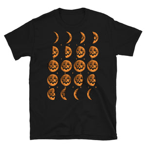 Cult of the Great Pumpkin Moon Phases Short-Sleeve Unisex T-Shirt