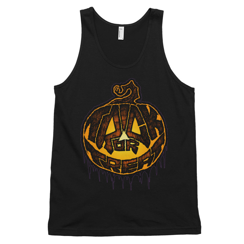 Trick or Treat Classic tank top (unisex)