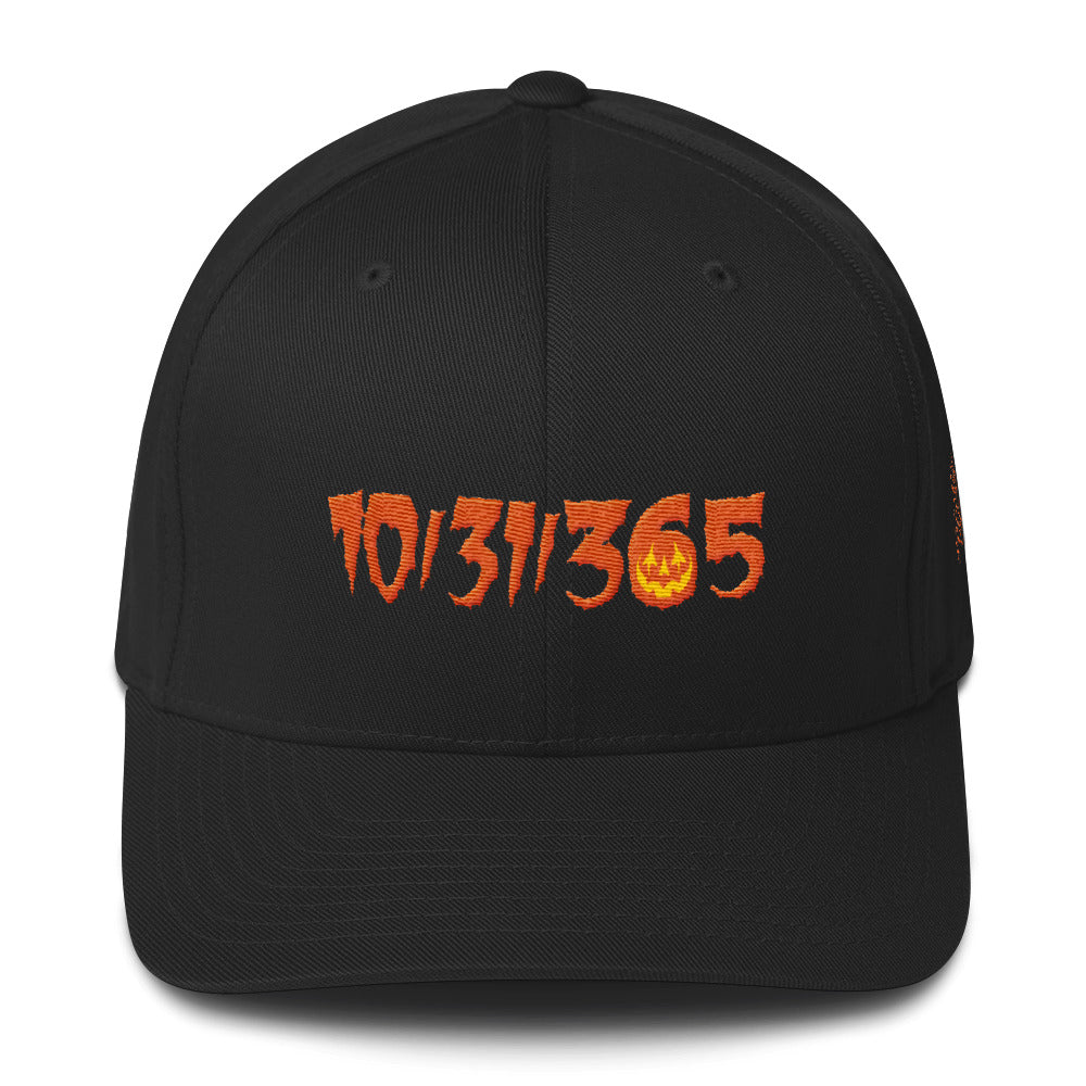 10/31/365 Embroidered Structured Twill Cap