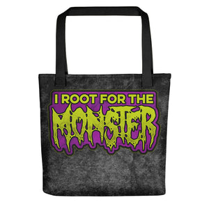 I Root for the Monster Tote bag