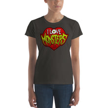 I Love Monsters Women's short sleeve t-shirt