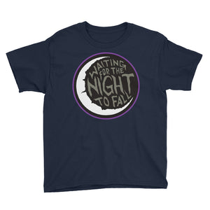 Waiting for the Night to Fall Youth Short Sleeve T-Shirt