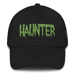 Haunter (Green) Embroidered Dad hat