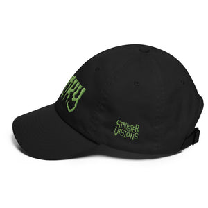Spooky (Green) Embroidered Dad hat