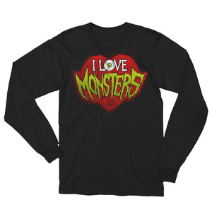 I Love Monsters Unisex Long Sleeve T-Shirt