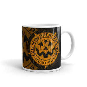 Cult of the Great Pumpkin Aged Logo Mug