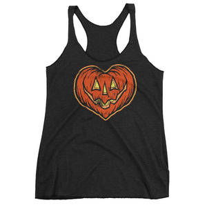 I Love Halloween Women's Racerback Tank