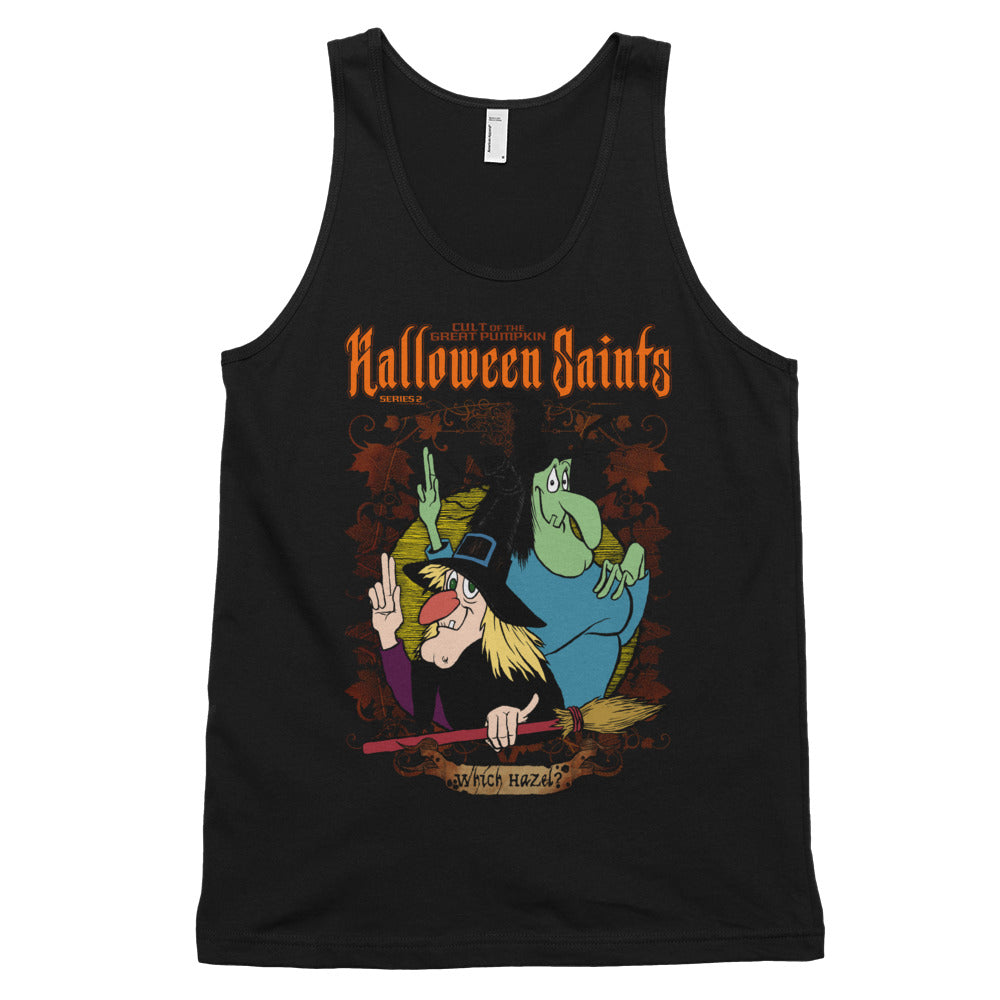 Halloween Saints Series 2 - Which Hazel Classic tank top (unisex)