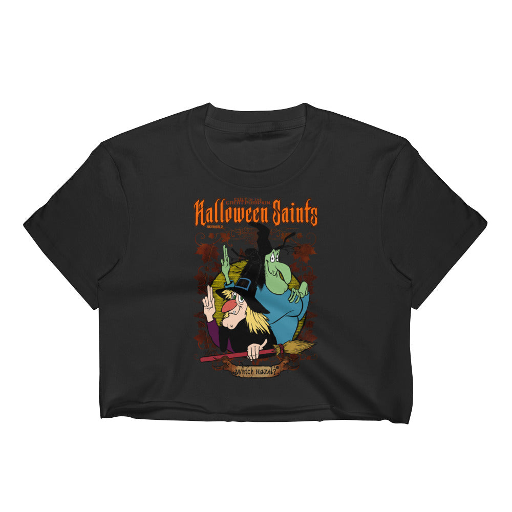 Halloween Saints Series 2 - Which Hazel Women's Crop Top