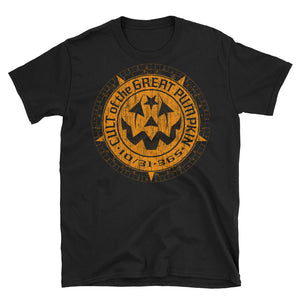 Cult of The Great Pumpkin Weathered Logo Short-Sleeve Unisex T-Shirt