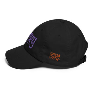 SPOOKY (Purple) Embroidered Dad hat