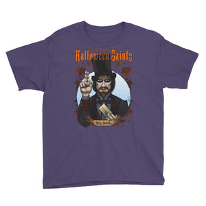 Halloween Saints - Mr. Dark Youth Short Sleeve T-Shirt
