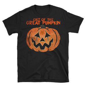 Cult of The Great Pumpkin - Mask Short-Sleeve Unisex T-Shirt